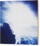 Expressing Light  Wood Print