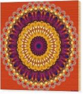 Expression No. 7 Mandala Wood Print