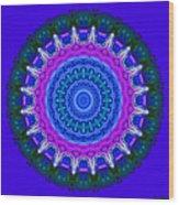 Expression No. 8 Mandala 3d Wood Print