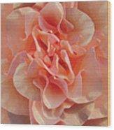 Expressionist Rose Wood Print