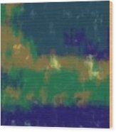 Expressionist View Vii Wood Print