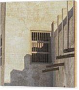 Exterior Of Isa Bin Ali House, Bahrain. Wood Print