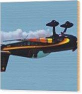 Extra 300s Stunt Plane Wood Print