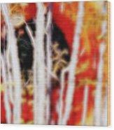 Eye Am Within  Wood Print