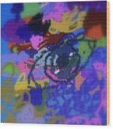 Eye Wood Print by Cybele Chaves