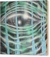 Eye Knew Wood Print
