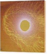 Eye Of God Wood Print