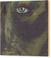 Eye Of Ivy Wood Print