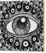 Eye Of March Wood Print