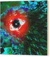 Eye Of Paradise Wood Print