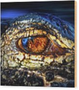 Eye Of The Apex Wood Print