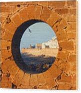 Eye Of The Beef  Essaouira  Mogador Wood Print
