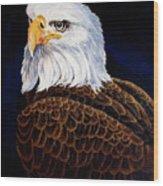 Eye Of The Eagle Wood Print