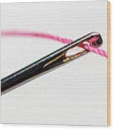 Eye Of The Needle Wood Print