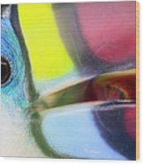 Eye Of The Toucan  Wood Print