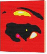 Eye Peace 3 Wood Print by Eikoni Images