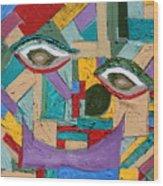 Eye To Eye To Eye Wood Print