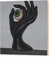 Eyehand Wood Print