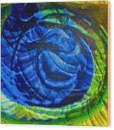 Eyeing A Storm Wood Print