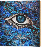 Eyelash  Wood Print by Yosi Cupano
