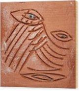 Eyes Adrift - Tile Wood Print