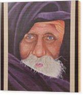 Eyes Of Rajasthan Wood Print