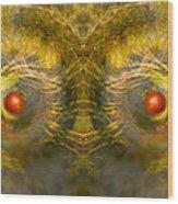 Eyes Of The Garden-1 Wood Print