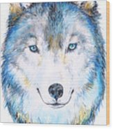 Eyes Of The Wild Wood Print