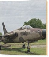 F-105 Thunderchief - 1 Wood Print