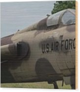 F -105 Thunderchief - 2 Wood Print