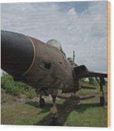 F - 105 Thunderchief Wood Print