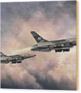 F-105 Thunderchief Wood Print