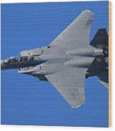 F-15 Eagle Wood Print