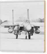 F-15e Strike Eagle Wood Print