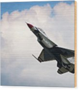F-16 Falcon Wood Print by Murray Bloom