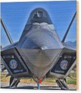F-22 Raptor 1 Wood Print