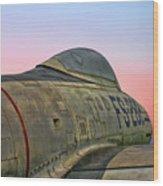 F-84g Thunderjet Wood Print