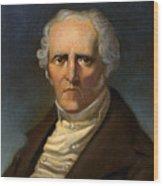 F. M. Charles Fourier  Wood Print