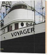 F V Voyager Wood Print