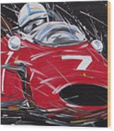 F1 Surtees Ferrari 1964 Wood Print