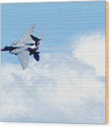 F15 - Heatwave Wood Print