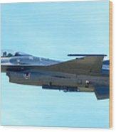 F16 Wood Print