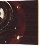 F4.5 Lens Wood Print