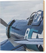 F4u Corsair N11y Wood Print