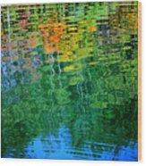 Fabian Pond Reflections3 Wood Print