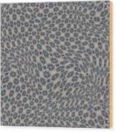 Fabric Design 11 Wood Print by Karen Musick