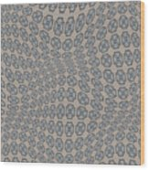 Fabric Design 12 Wood Print
