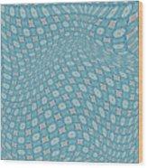 Fabric Design 16 Wood Print by Karen Musick
