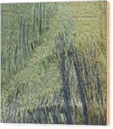 Fabric Texture Wood Print