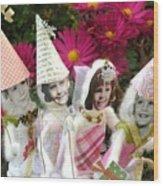 Fabulous Fairies Wood Print